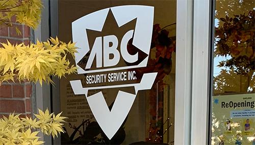 ABC Security Service front door