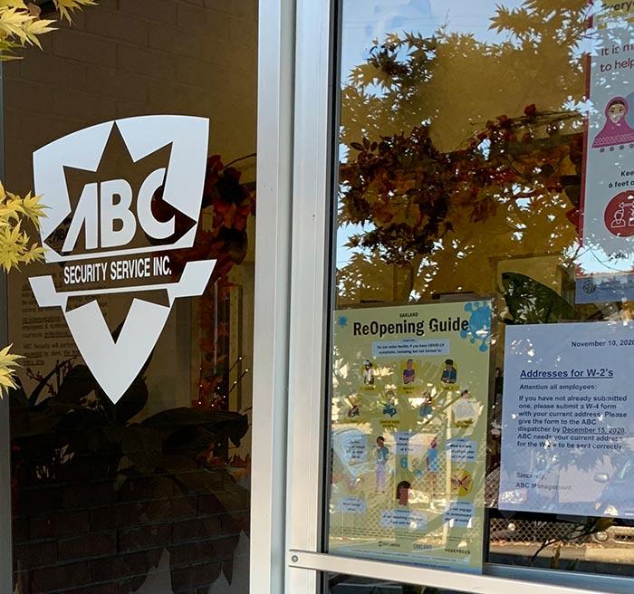 ABC Security door